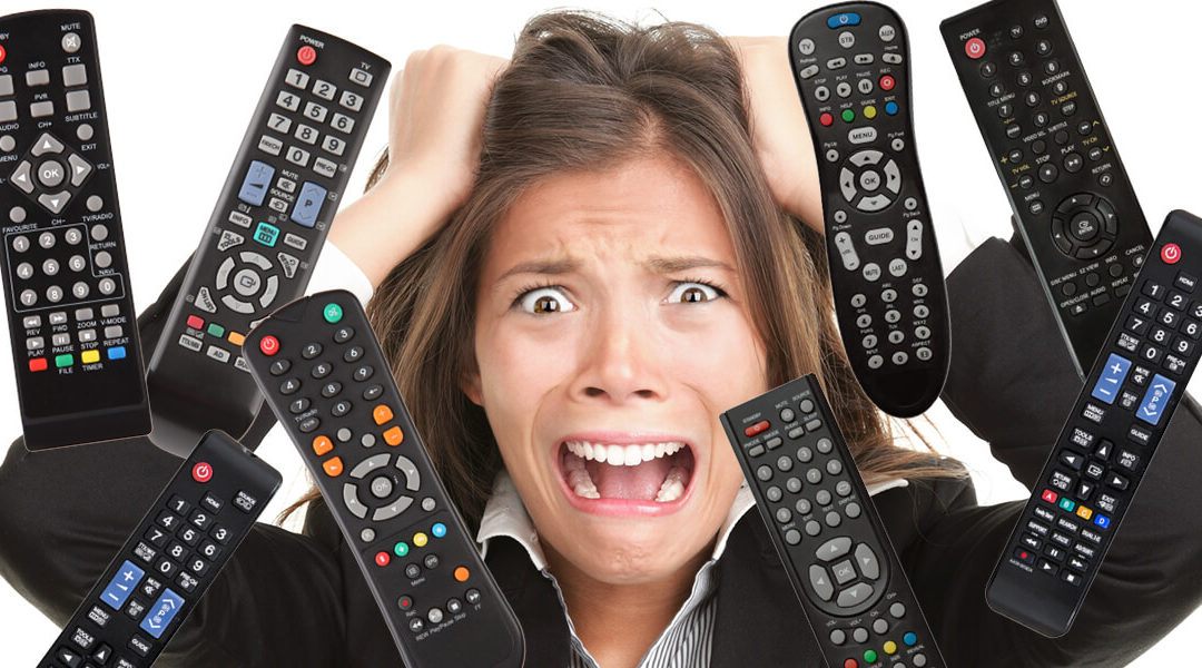 Are you going crazy with too many remotes?